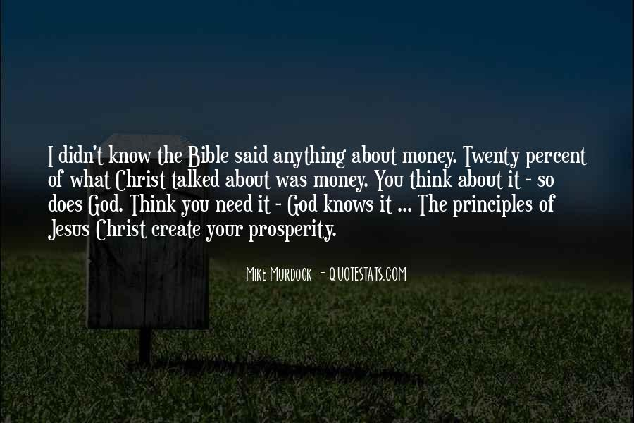 Bible And Money Quotes #1311012