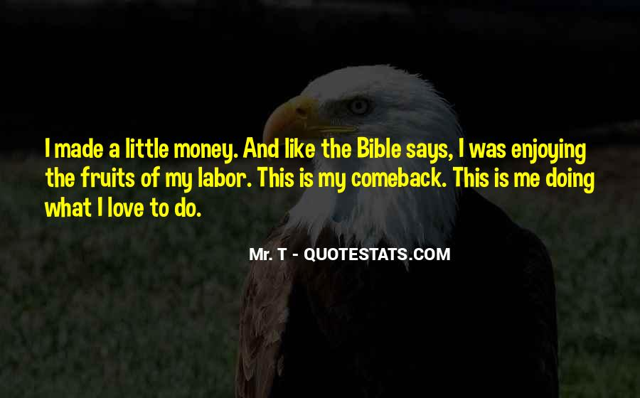 Bible And Money Quotes #175009