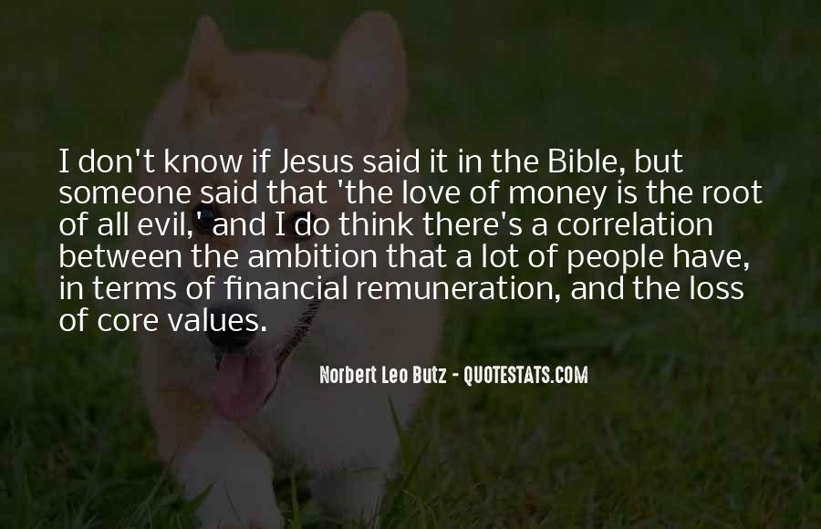 Bible And Money Quotes #264068