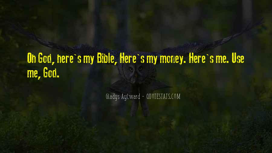 Bible And Money Quotes #280423