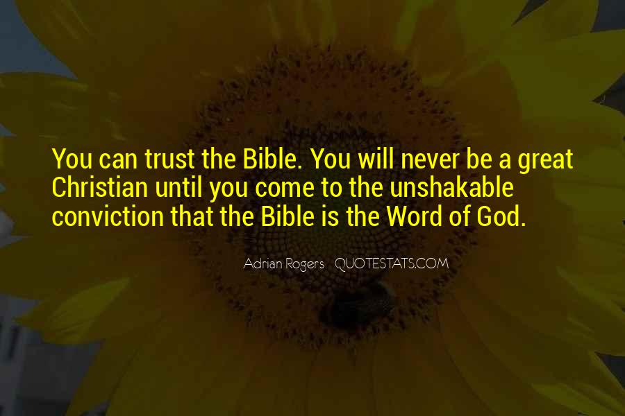 Bible Conviction Quotes #406707