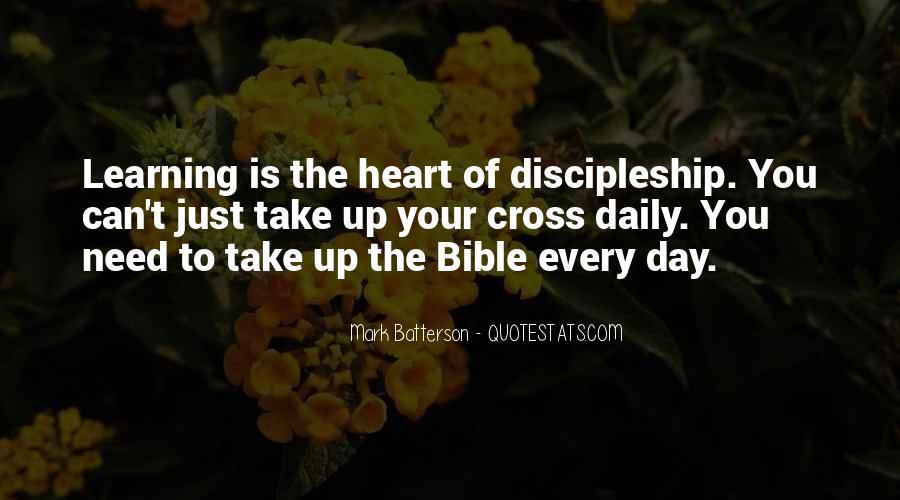 Bible Discipleship Quotes #1285883