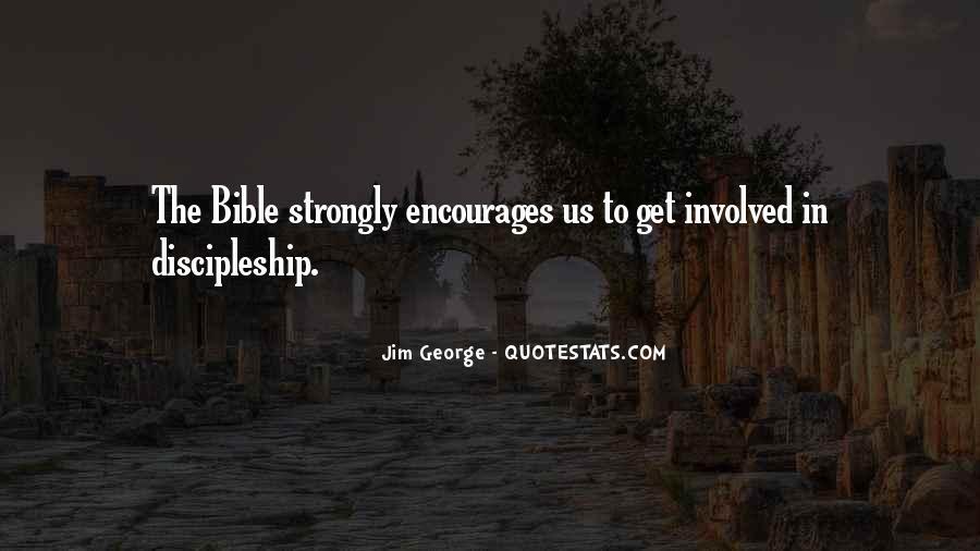 Bible Discipleship Quotes #977679
