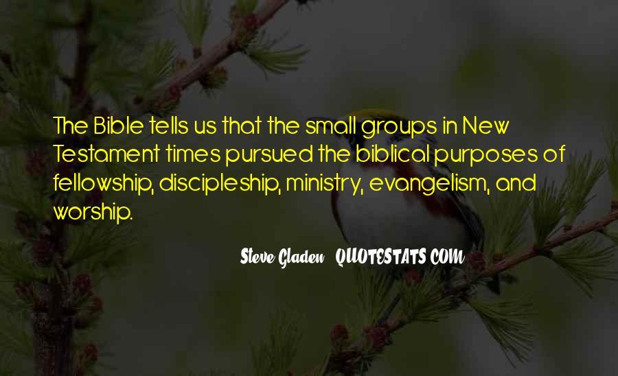 Bible Discipleship Quotes #999292