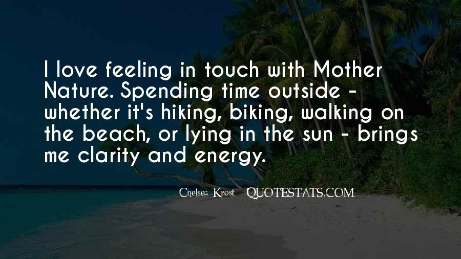 Quotes About Lying In The Sun #128582