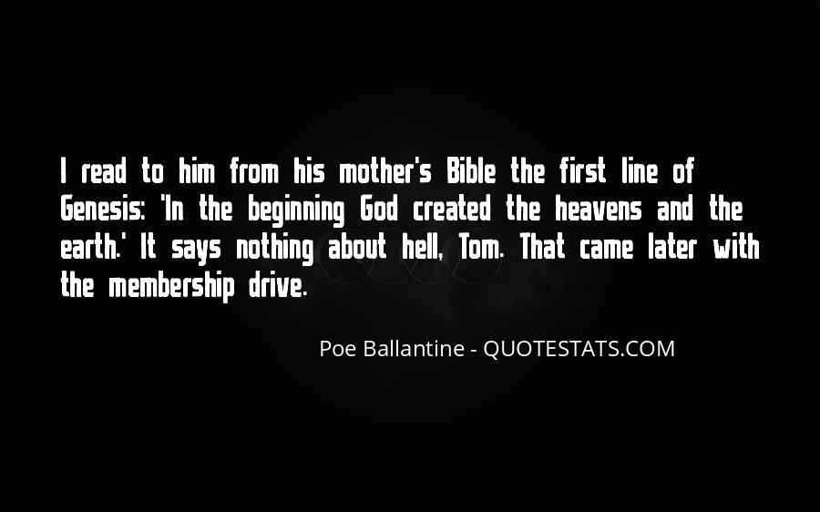 Bible Mother Quotes #827428