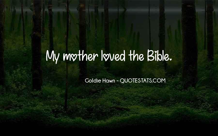 Bible Mother Quotes #829766