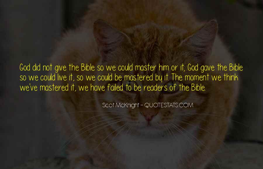 Bible Or Not Quotes #1030770