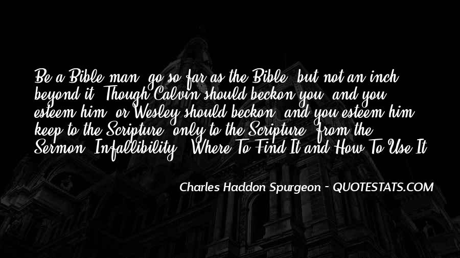 Bible Or Not Quotes #153675