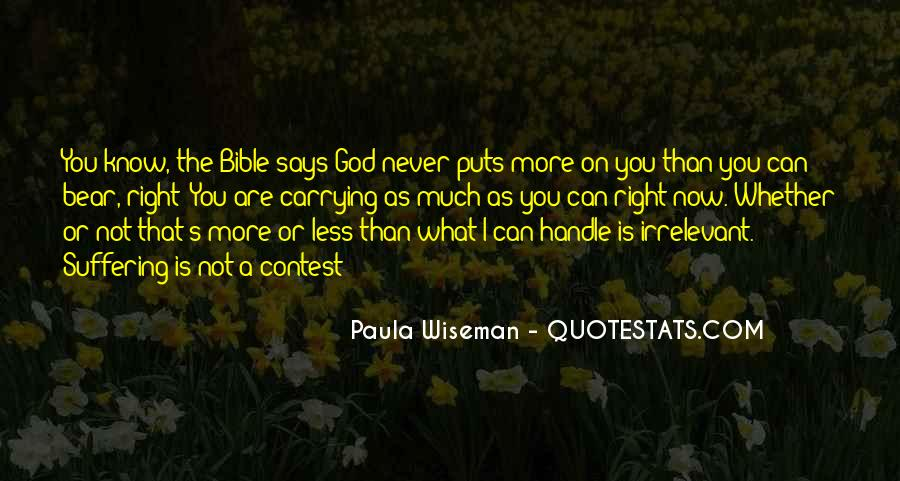 Bible Or Not Quotes #354658