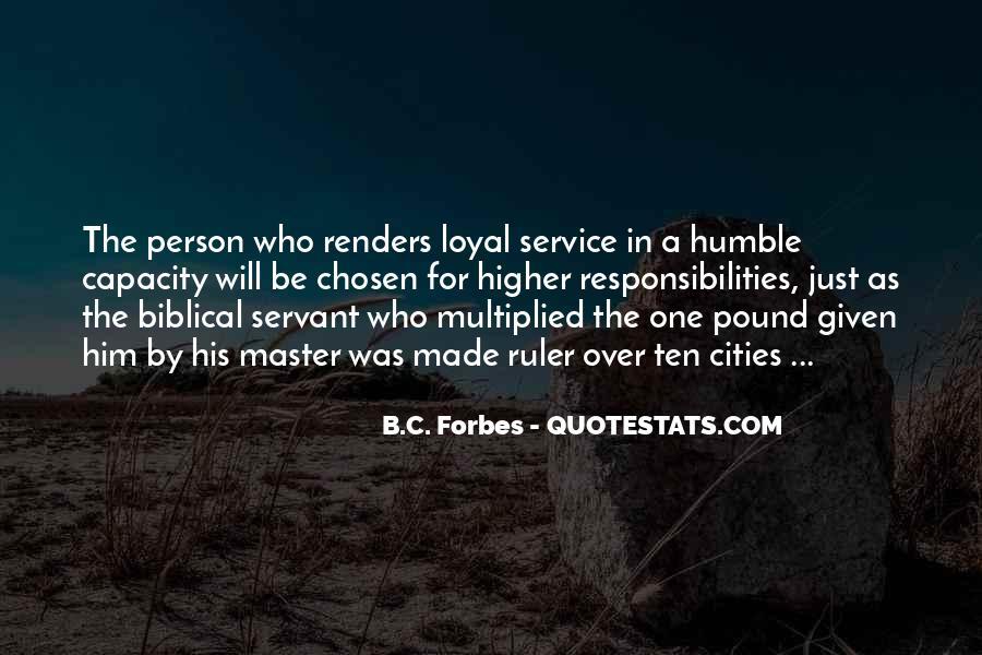Biblical Servant Quotes #1448999