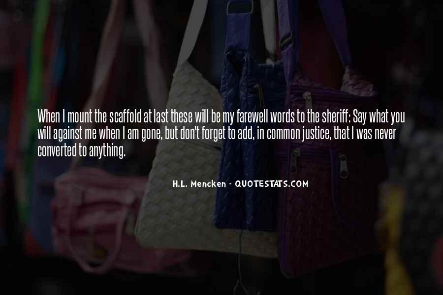 Bid You Farewell Quotes #117624