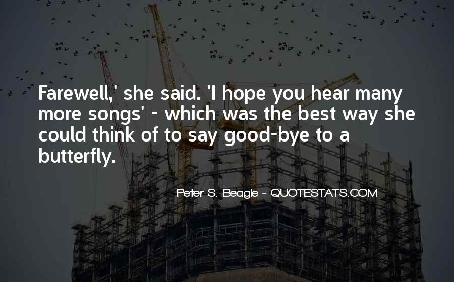 Bid You Farewell Quotes #127706