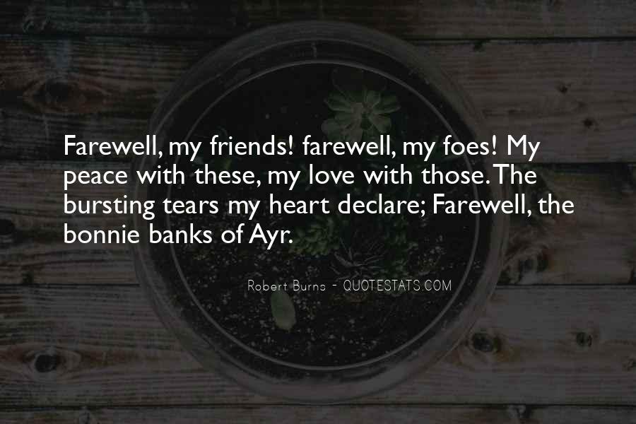 Bid You Farewell Quotes #203668