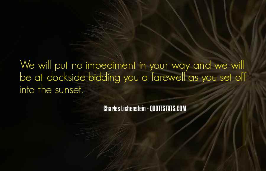 Bid You Farewell Quotes #209085