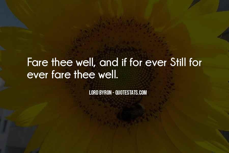 Bid You Farewell Quotes #67944