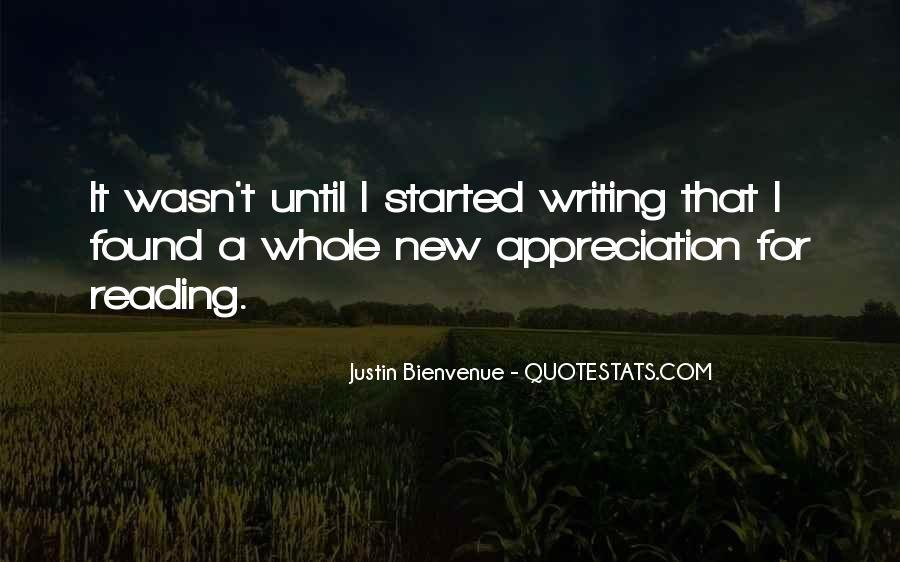 Bienvenue Quotes #656155