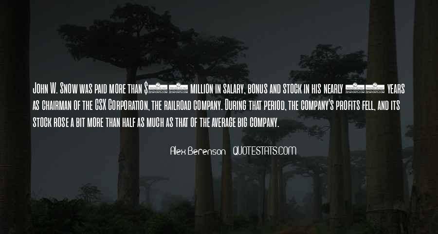 Big Corporation Quotes #1097420