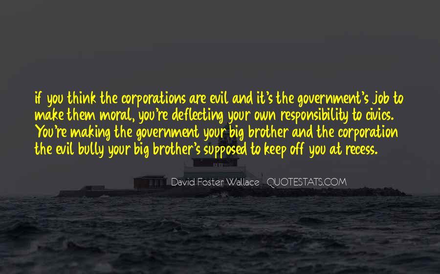 Big Corporation Quotes #1226867