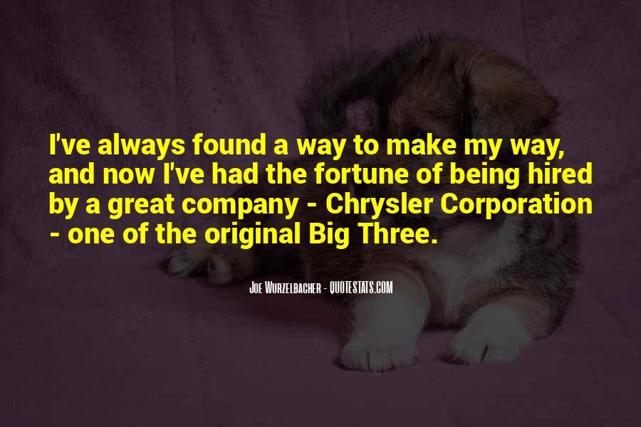 Big Corporation Quotes #13085