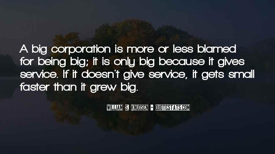 Big Corporation Quotes #167248