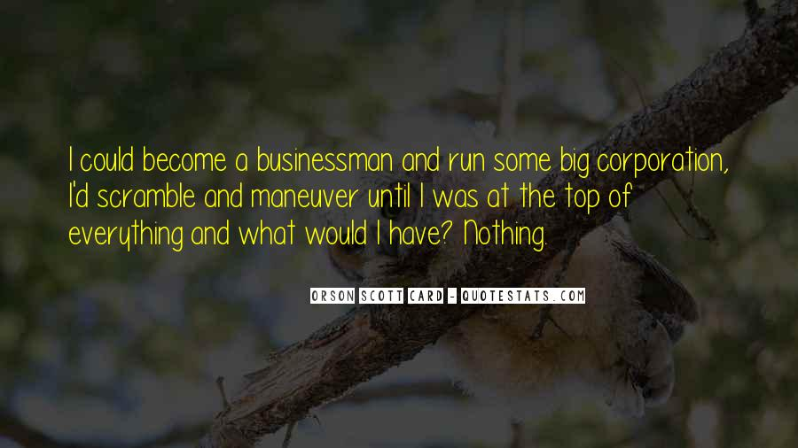 Big Corporation Quotes #215685