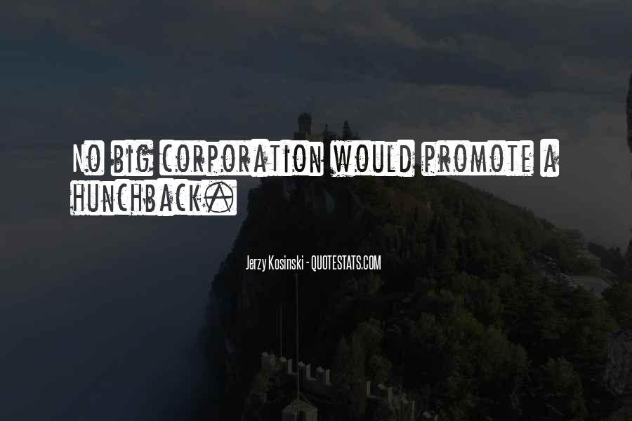 Big Corporation Quotes #903188