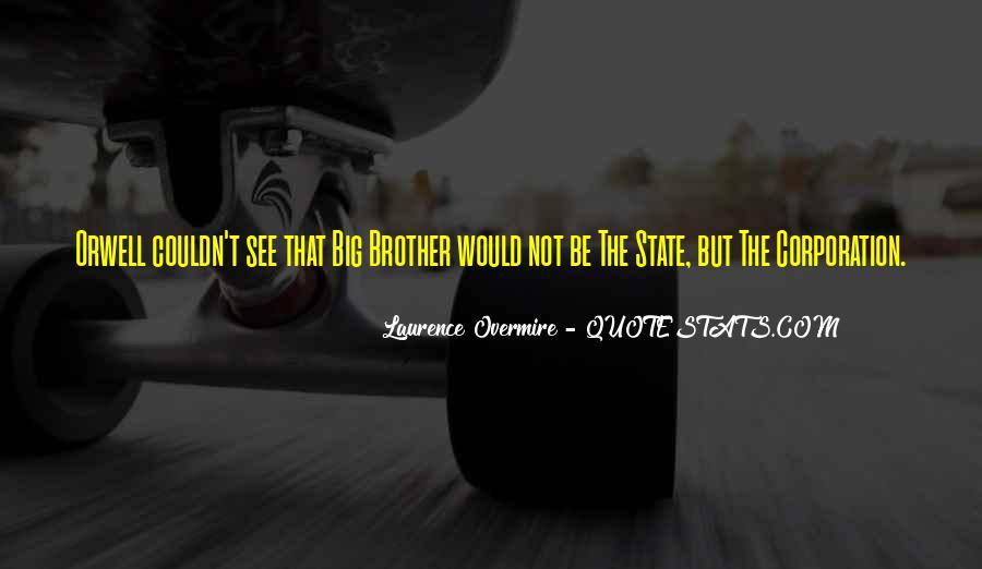 Big Corporation Quotes #94227