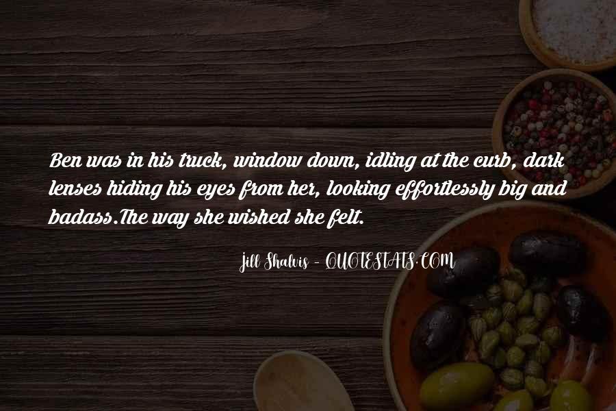Big Dark Eyes Quotes #1188398