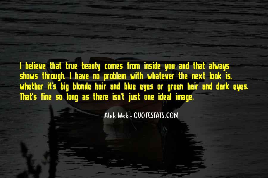Big Dark Eyes Quotes #450235
