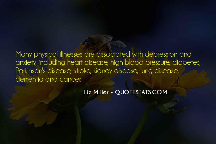 Quotes About Lung Disease #530327