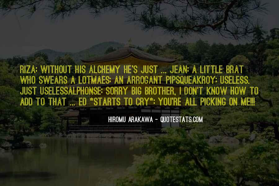 Big Little Brother Quotes #1400220