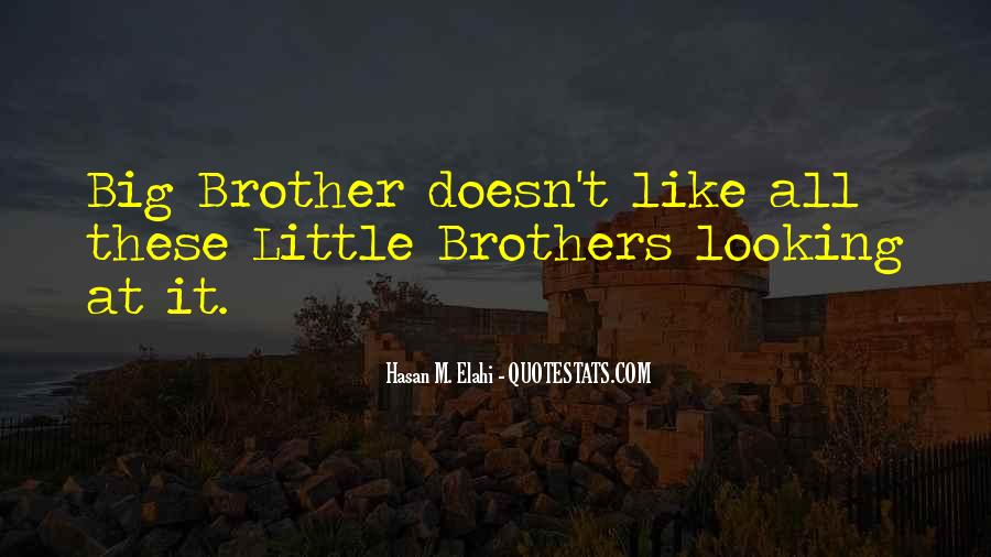 Big Little Brother Quotes #1433772