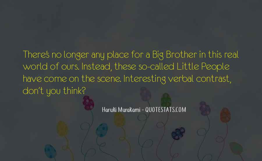 Big Little Brother Quotes #597480