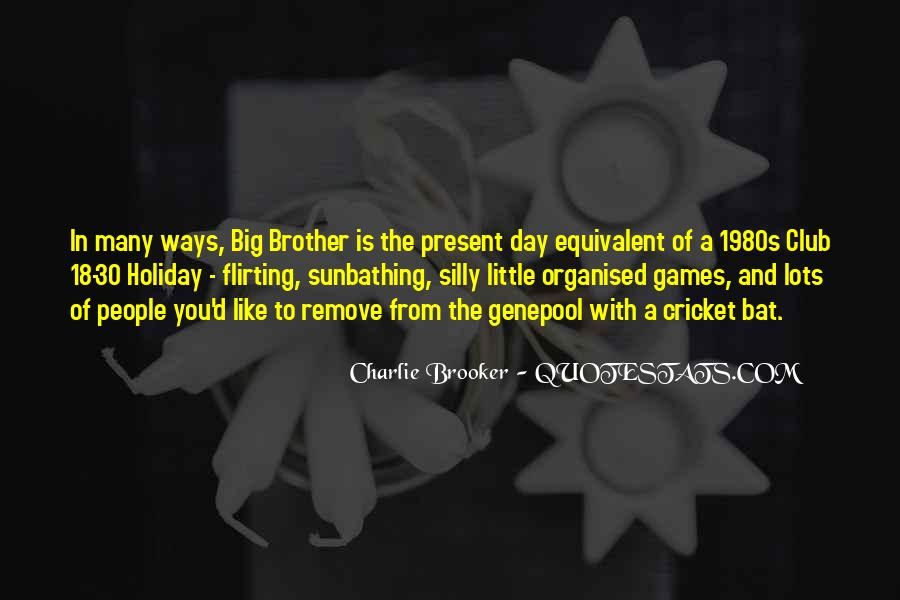 Big Little Brother Quotes #619176