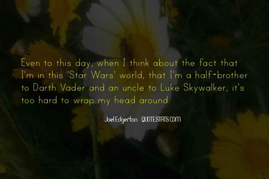Quotes About Luke Skywalker Darth Vader #728713
