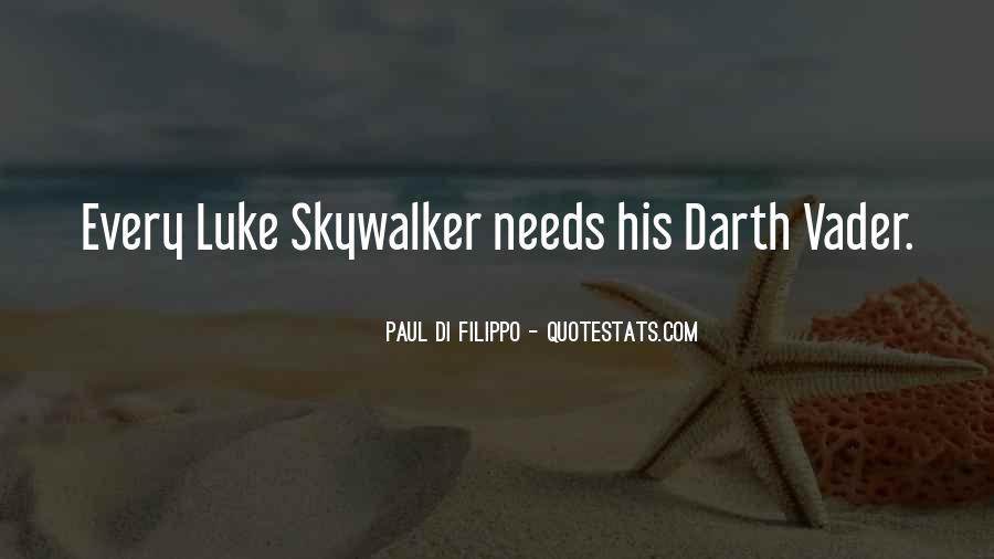 Quotes About Luke Skywalker Darth Vader #910810