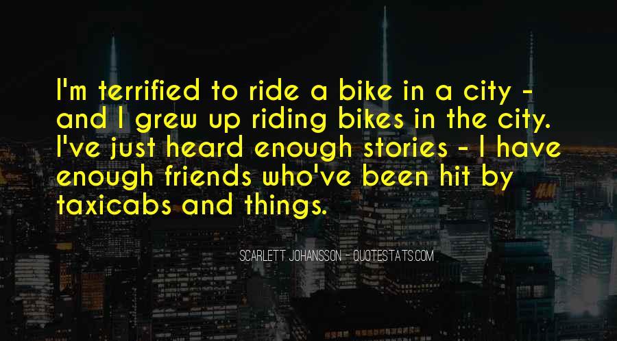 Bike Quotes #128559