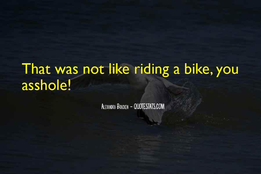 Bike Quotes #290703