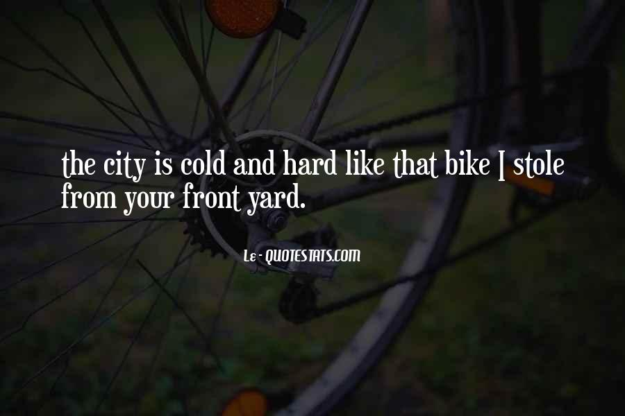 Bike Quotes #40708