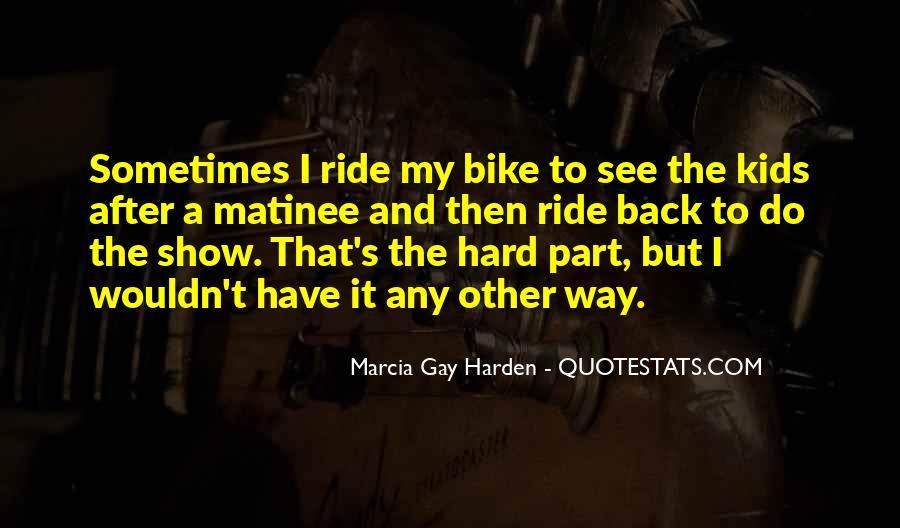 Bike Quotes #9665
