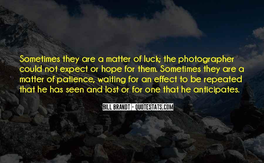 Bill Brandt Photographer Quotes #1684223