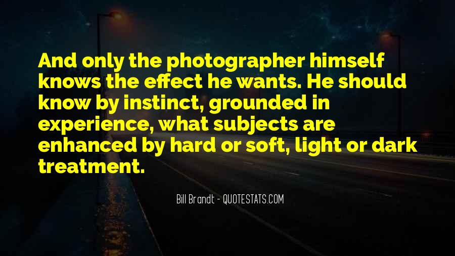 Bill Brandt Photographer Quotes #284005