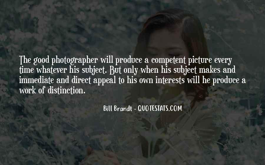 Bill Brandt Photographer Quotes #77140