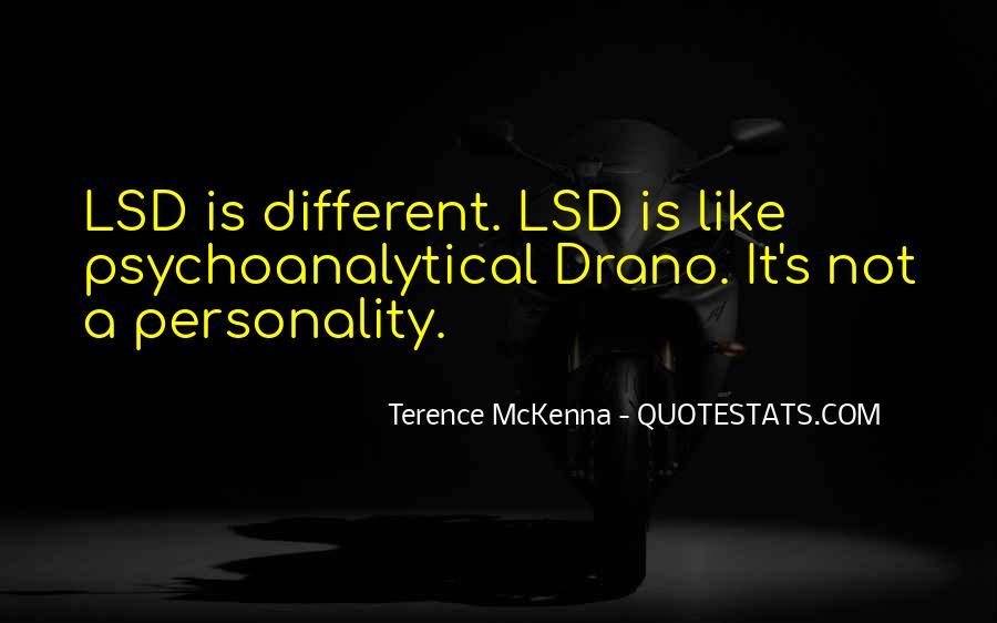 Quotes About Lsd #154888