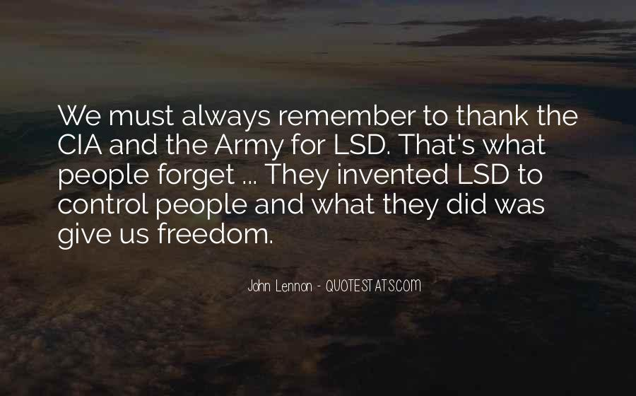 Quotes About Lsd #435265