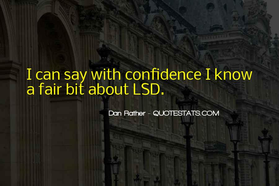 Quotes About Lsd #669688