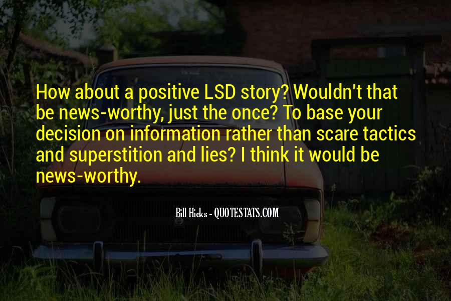 Quotes About Lsd #798926