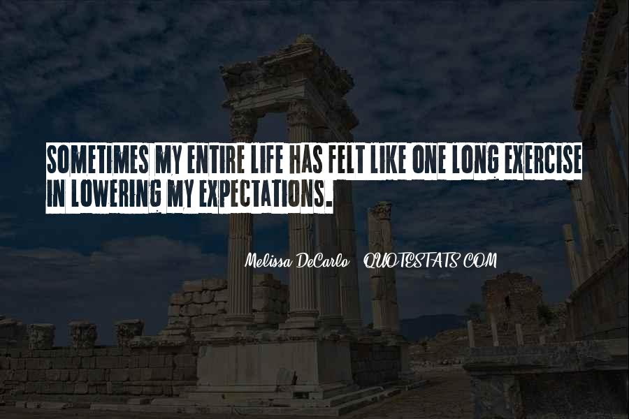 Quotes About Lowering Your Expectations #726848