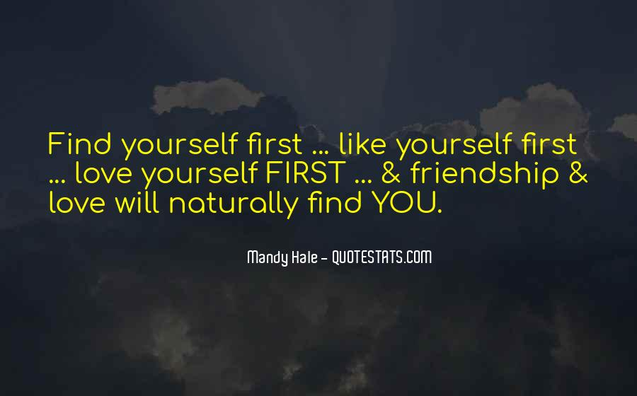 Quotes About Loving Yourself For Who U Are #5719